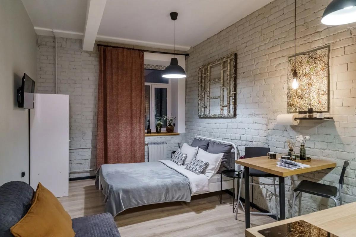 Маленькая квартира-студия 19 кв.