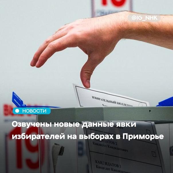 По данные на 15.00 19 сентября на выборах депутато...