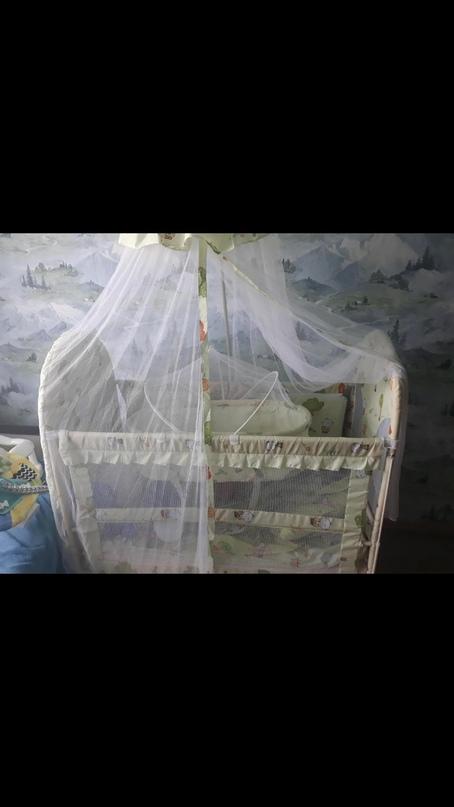 Очень удобная кроватка. Имеется большая   Объявления Орска и Новотроицка №28066