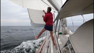 ep41 - Sailing Connecticut - Sailing Stonington - Hallberg-Rassy 54 Cloudy Bay - Sep 2018