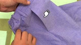 How to sew a Side Slant Pocket
