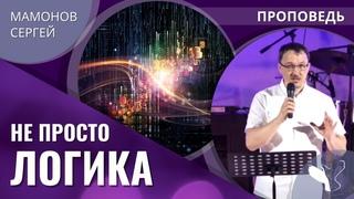 Сергей Мамонов – Не просто логика