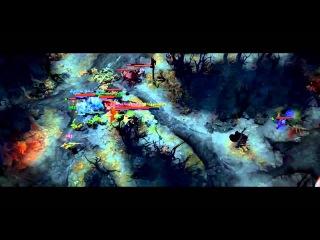 [DotaFX] TI3 - The Epic Play -  - Fogged Calldown Steal Turnaround~