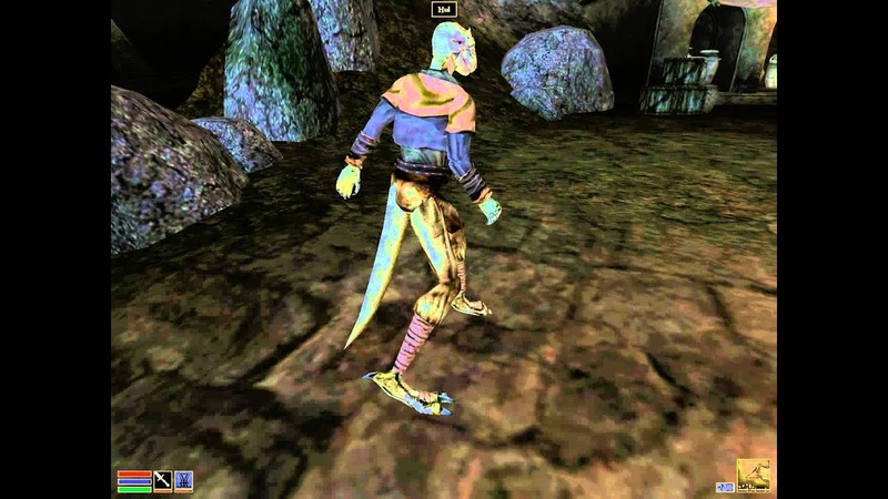 Morrowind Argonian walking animation