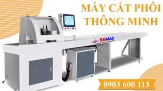[ SEMAC ] Máy cắt khuyết tật - cắt chọn lựa phôi thông minh với chế độ cắt gỗ - Hotline 0903600113