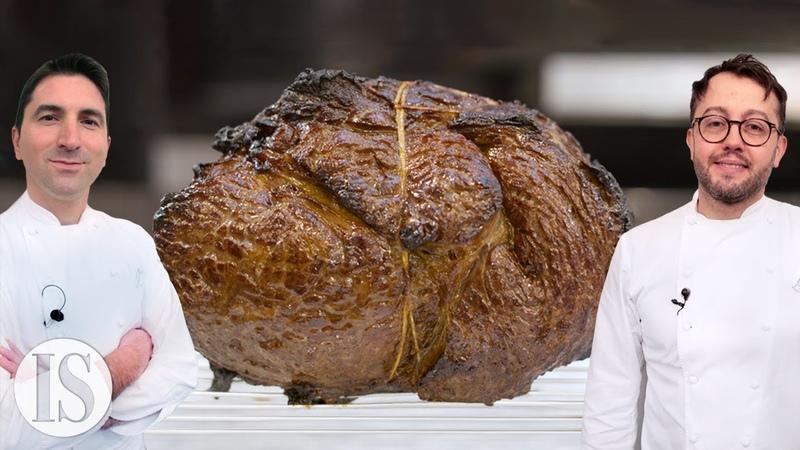 Il Roast Beef in un due stelle Michelin italiano con Alessandro Negrini e Fabio Pisani