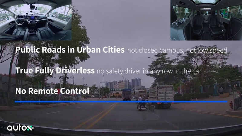 The First 100 Days with AutoX's Fully Driverless Robotaxi