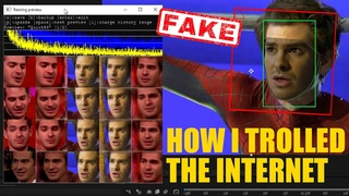 How I trolled the entire Internet - Andrew Garfield DeepFake