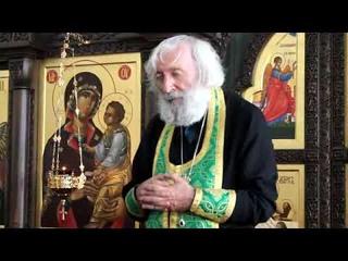 Протоиерей Евгений Соколов. Святая Троица - единство в Любви