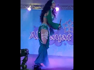 °•★☆ GOLD OF BELLYDANCE☆★•° {OFFICIAL page}💖 - Sahar Samara Saidi dance at Gala show Al Hayat 2019