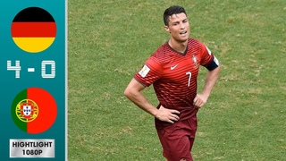 Germany vs Portugal 4-0 Highlights & Goals - World Cup 2014 Group G | Classic Match HD