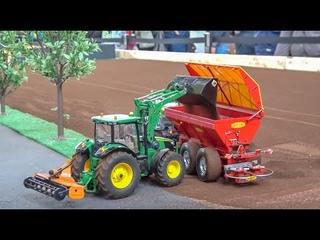 LEGO® TRAIN CRASH! RC FARMING! RC TRUCKS! CRANE! STUNNING SCALE MIX!