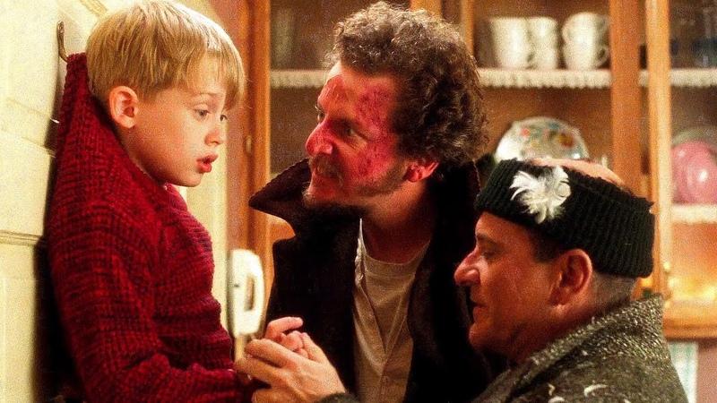 Гарри и Марв перехитрили Кевина Один дома 1990 год